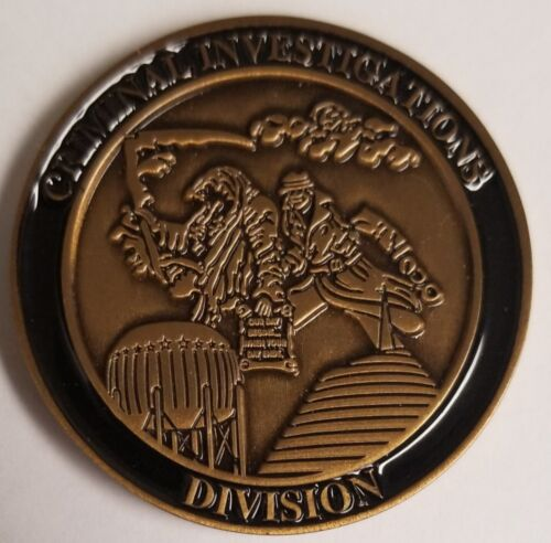 BOWLING GREEN KENTUCKY POLICE CID CRIMINAL INVESTIGATION DIVISION CHALLENGE COIN