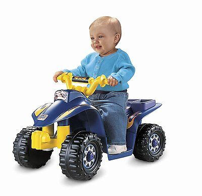 Electric Cars For Kids To Ride Sporty ATV Power Wheels Battery Car Toys Blue New