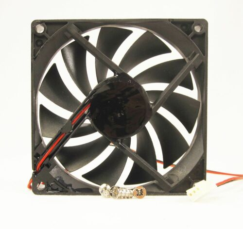 92mm 15mm New Case Fan 12V DC IP55 Waterproof 2 Wire Cooling Ball Brg 9215 353*
