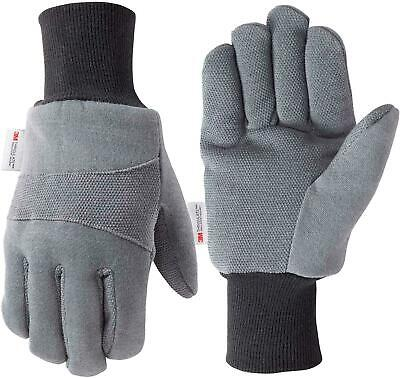 Wells Lamont Cold Weather Work Gloves Insulated Jersey 3m Thinsulate