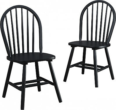Autumn Lane Windsor Solid Wood Dining Chairs Set Of 2 Home K
