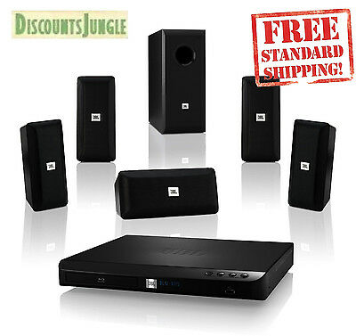 JBL BD100 Complete Bluetooth 5.1-Channel 3D Blu-ray Disc Integrated Home Theater