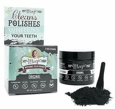 Whitening Tooth Powder - Cleans Polishes & Detoxes