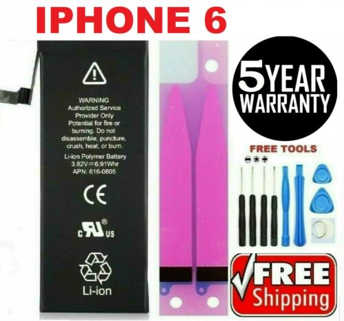 Battery For iPhone 6 internal replacement (1810mAh) Free oem Tools & tape