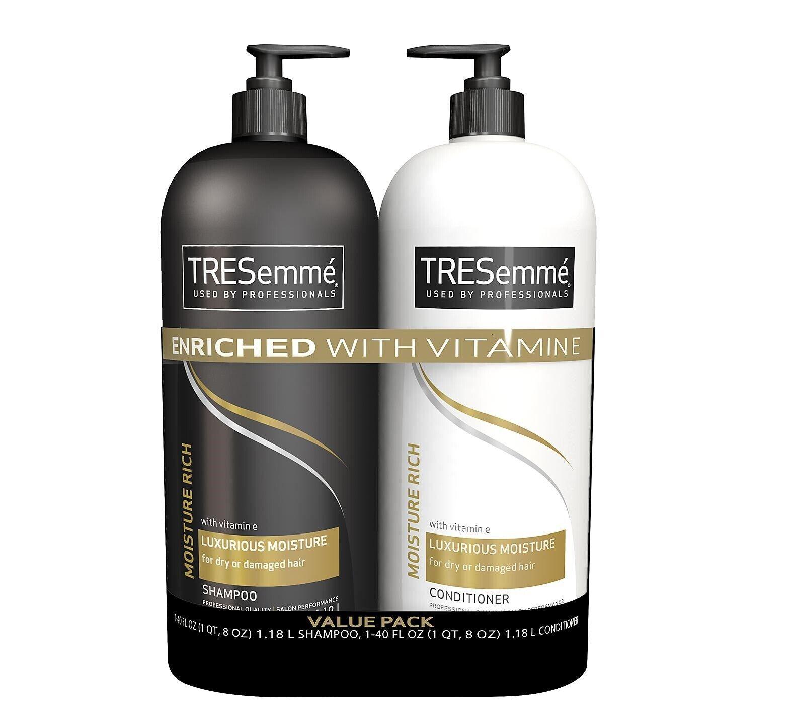 TRESemme Moisture Rich Shampoo & Conditioner Value Pack