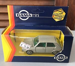 VINTAGE-VERY-RARE-VOLKSWAGEN-GOLF-GAMA-MINI-1-43-NIB
