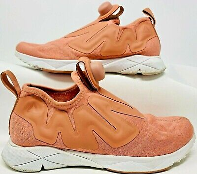 Reebok Pump Supreme Engine Running Sneakers Size 6 Salmon (Women fits size...