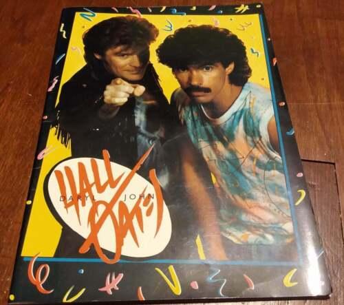 Hall and Oates 1984 Concert Tour Program Big Bam Boom live