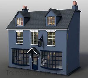 Antique Shop Dolls House 1:12 Scale - Unpainted Dolls House Kit