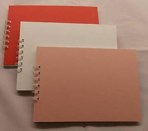 Mountboard-Scrapbook-Album-20-Pages-A5-Bind-It-All-scrapbook-memory-photo-album