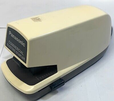 Panasonic Commercial Ajustable Electric Stapler Euc Tested Working
