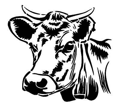 Cow Car Decal / Sticker
