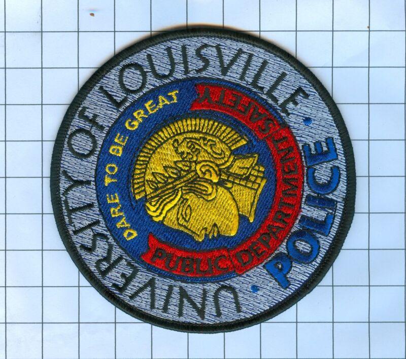 Police Patch  - Kentucky  - UNIVERSITY OF LOUISVISVILLE - ROUND CIRCLE