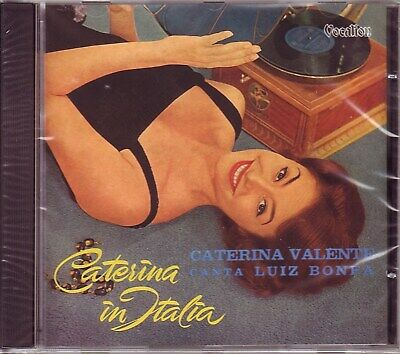 CATERINA VALENTE – Caterina In Italia / Valente Canta Luiz Bonfa (Vocalion, UK)