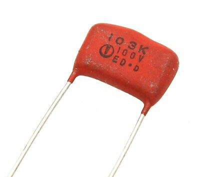 Polyester Capacitors 0.01uf 10 100vdc - Lot Of 3 10 Or 25.