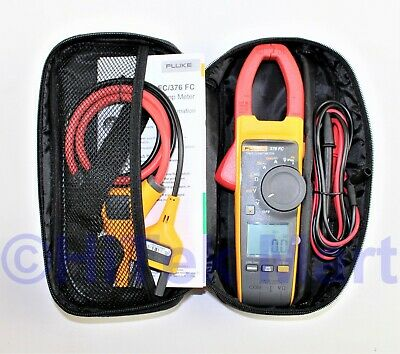 Fluke 376 Fc Wireless True Rms 1000a Acdc Clamp Meter I2500-18 Iflex Flex Cable