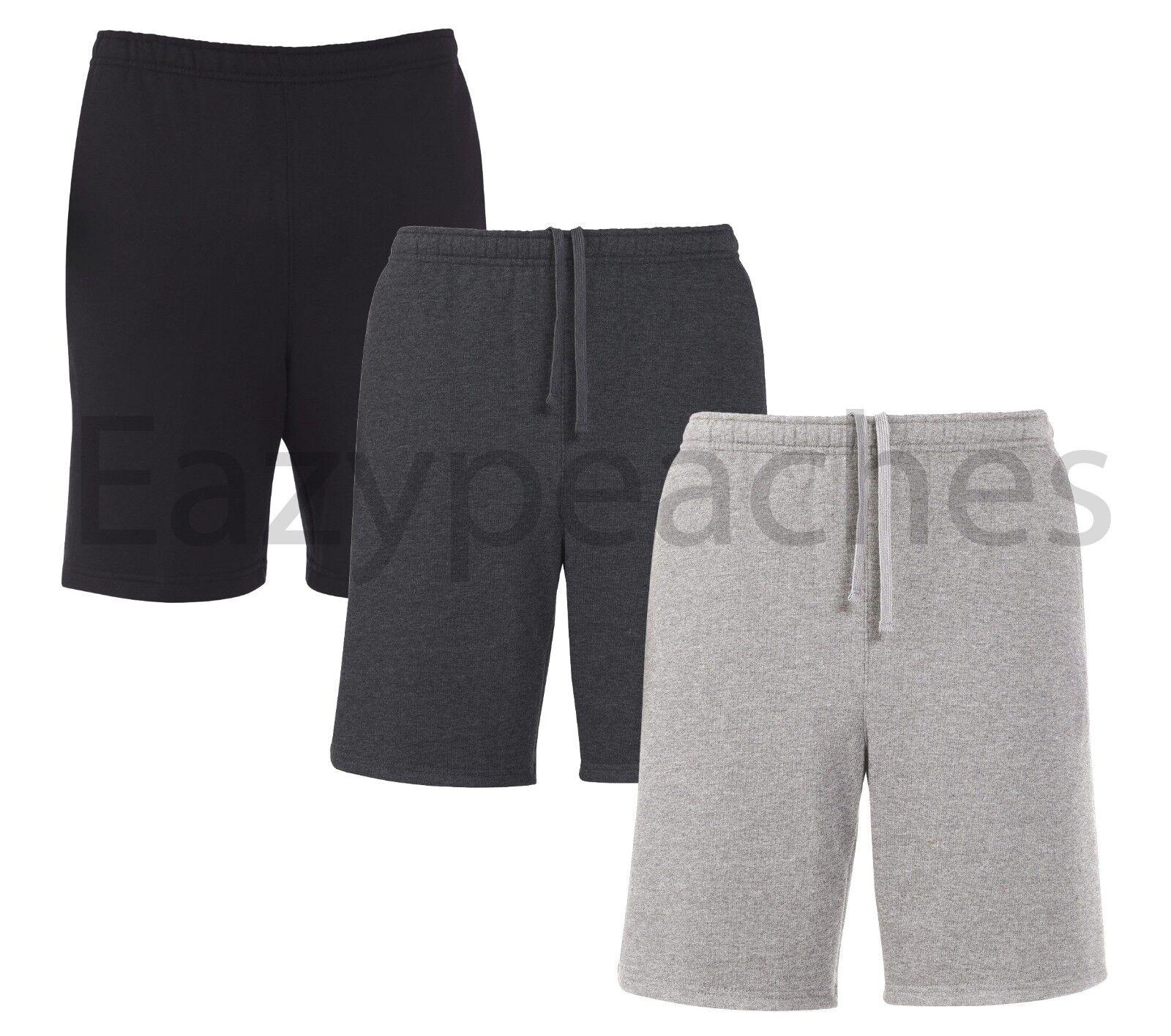 Russell Athletic - Men's Size S-3XL Fleece Sport Shorts w/ P