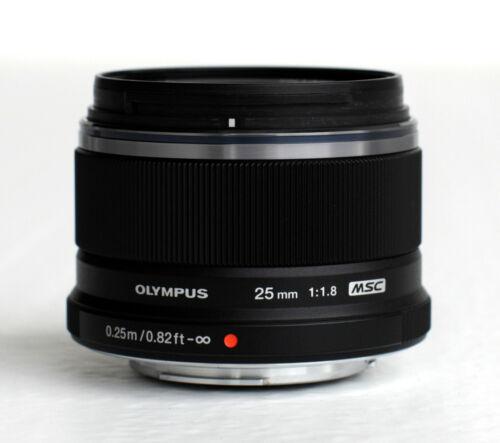 Olympus M.Zuiko 25mm f/1.8 AF Lens - Black