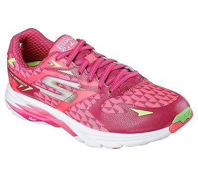 Skechers GO RUN Ride 5 Womens Running Shoe-13997-Hot Pink/Green - Pick Size -NIB