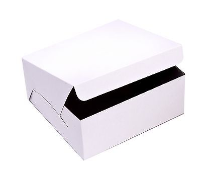 Safepro 8x8x3-inch Cake Boxes 250-piece Case