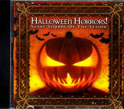 HALLOWEEN HORRORS! SCARY SOUNDS OF THE SEASON: OVER ONE HOUR OF GHOULISH TERROR! - Halloween Horrors The Sounds Of Halloween