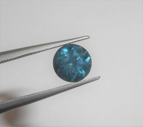1.09 ct Round Loose Montana Sapphire - Blue - Natural
