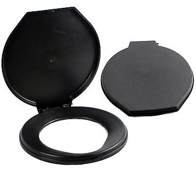 Mayday Portable Camping Toilet Seat Lid Cover Survival Emergency Fit 5 G. Bucket