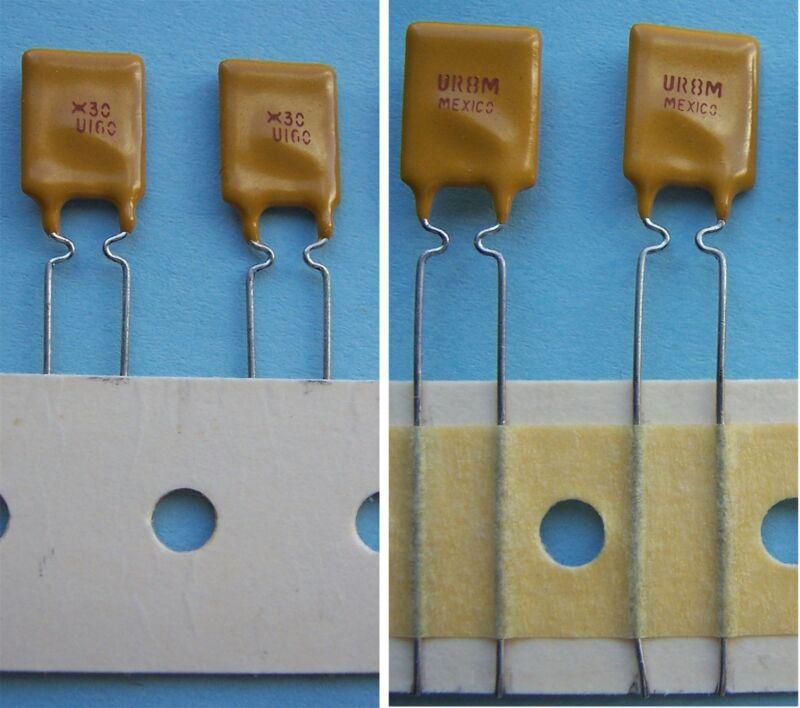 RAYCHEM RUE160-2 1.6 Amp RESETTABLE FUSES (10 PCS)