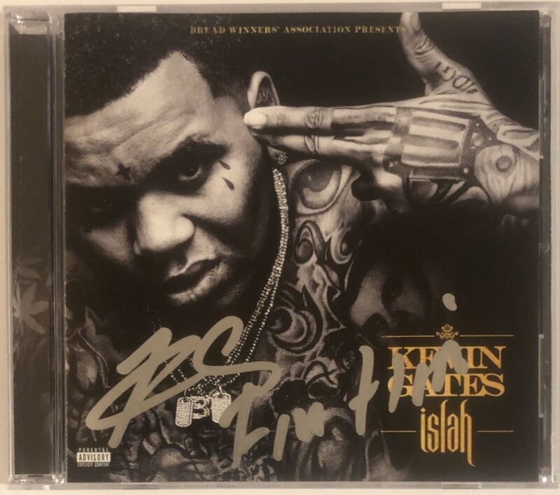 Kevin Gates Signed Autographed ISLAH CD EXACT PROOF Im Him Rapper BWA