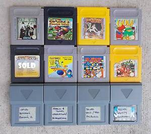☆ Nintendo GameBoy Games + Rechargeable Battery ☆ Caboolture Caboolture Area Preview