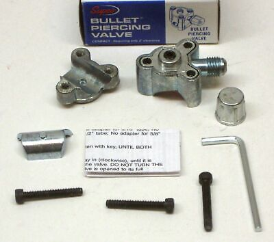 Bpv21 Supco Bullet Piercing Valve Fits 12 And 58 Tubing 2-n-1 Access