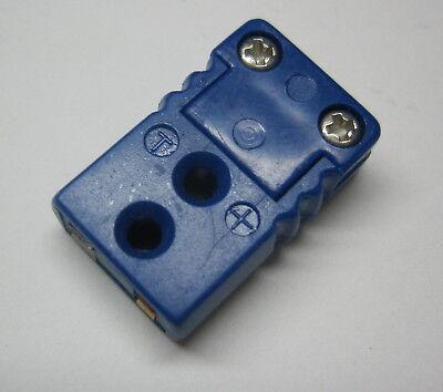 Miniature Mini T Type Connector Plug Female For Thermocouple Wire Sensor Probe
