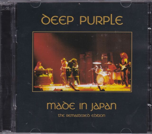 DEEP PURPLE - MADE IN JAPAN on 2 CD's - NEW - REMASTERED -