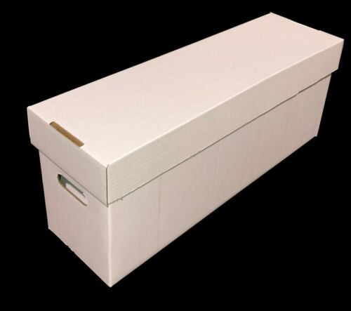 10 CSP COLLECT SAVE PROTECT Long DOUBLEWALL Cardboard Comic Book Storage Boxes