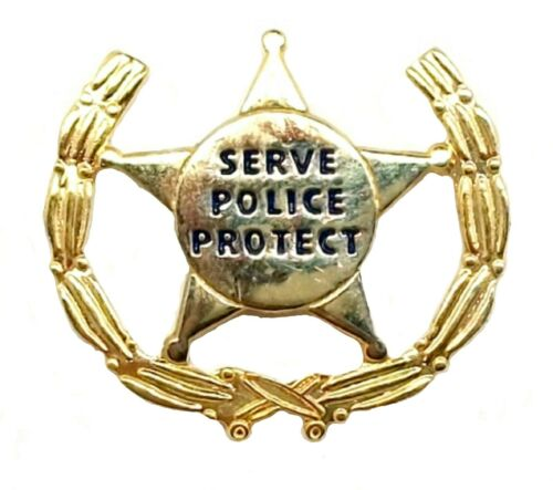 To protect and Serve Hat Tac or Lapel Pin