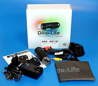 New Dino-lite Am4012ptl Digital Microscope Pal Tv 1090x 640x480 Px Microscope