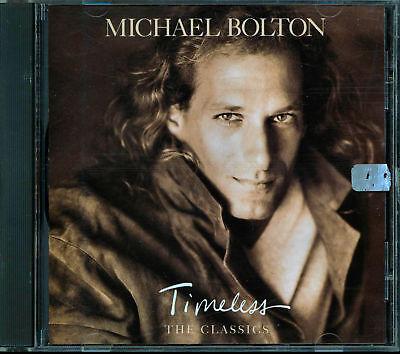 Michael Bolton   Timeless  The Classics  Cd  Sep 1992  Columbia