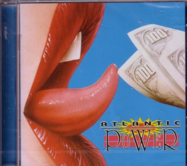 Atlantic - Power (2008) cd album rock new still  sealed + bonus track reissue