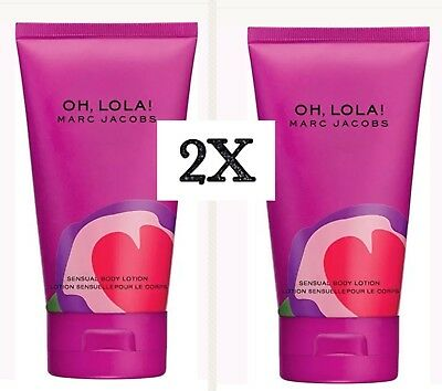 2X Marc Jacobs Oh Lola Perfumed Sheer Body Lotion 2.5 Oz Total 5 (Sheer Body Lotion)