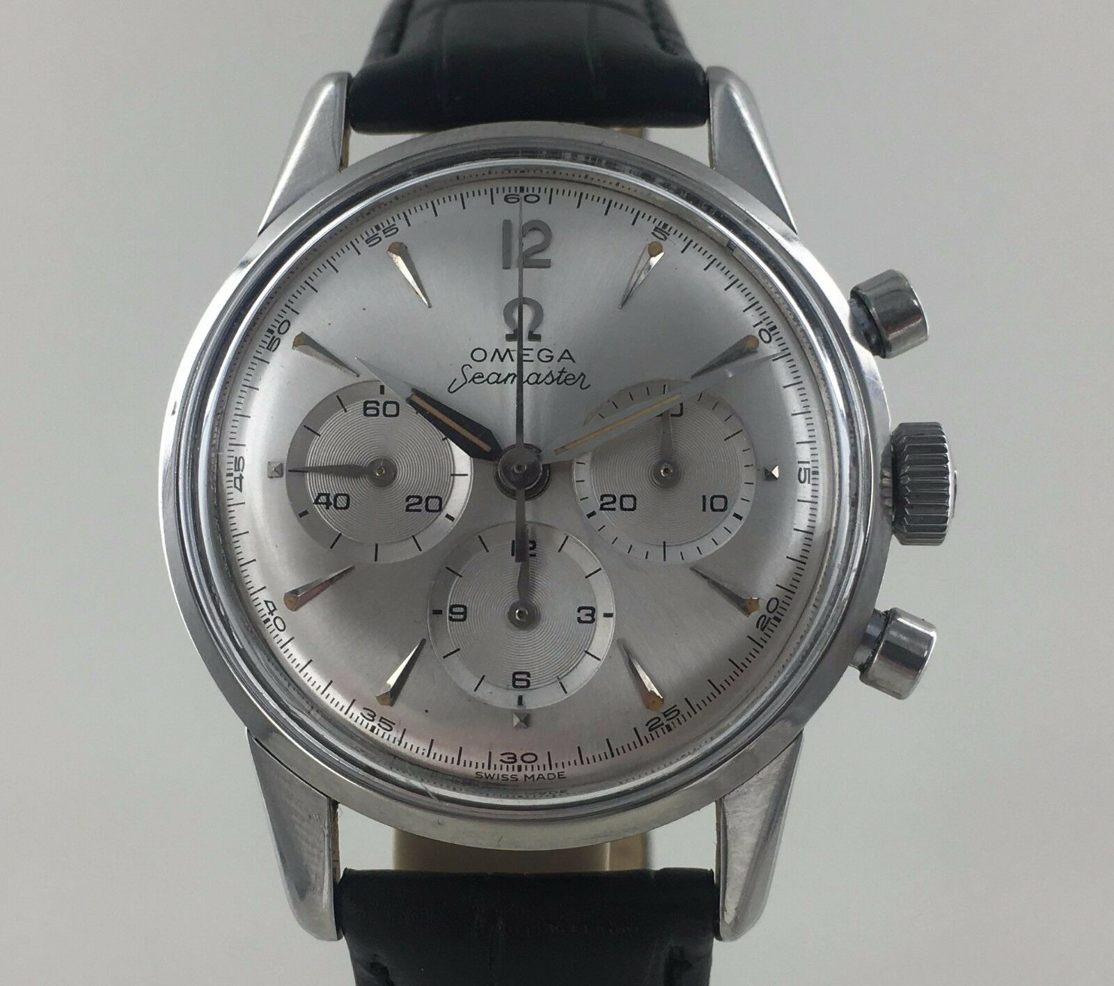VINTAGE 1961 OMEGA 321 SEAMASTER CHRONOGRAPH REF 14364 - watch picture 1