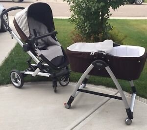 Excellent price! Peg-Perego SKATE stroller w/ bassinet and stand
