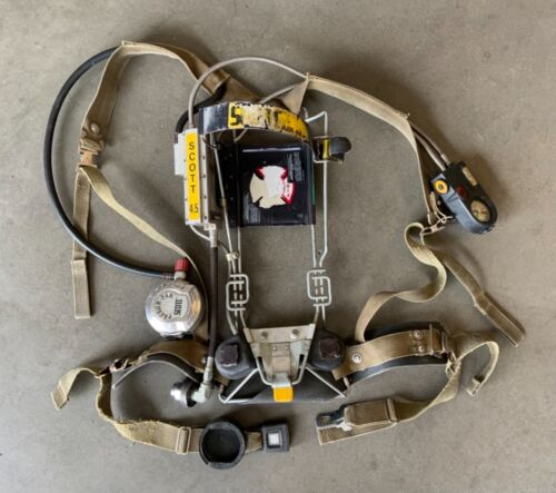 Scott 4.5 Wire Frame SCBA with Integrated PASS