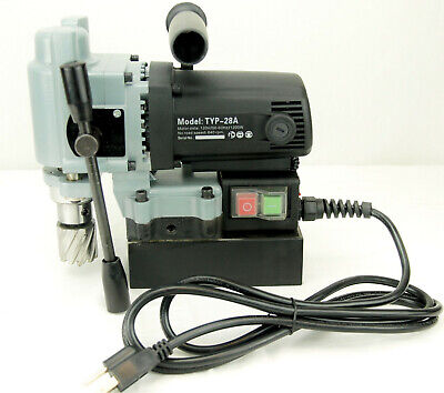 Bluerock Tools Typ-28a Mini Magnetic Drill Press Typhoon Small Mag Annular