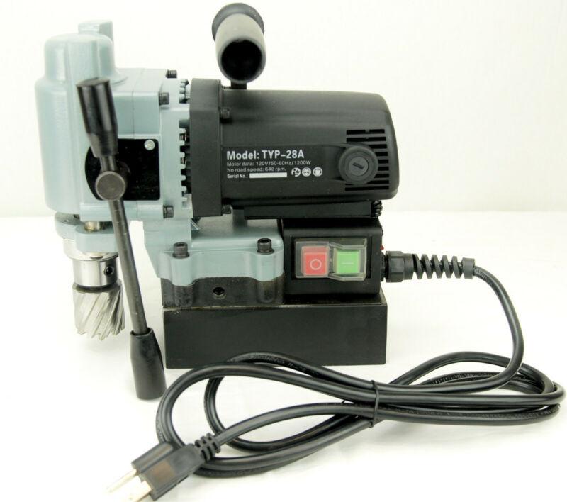 BLUEROCK ® Tools TYP-28A MINI Magnetic Drill Press Typhoon Small Mag Annular
