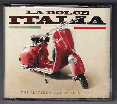 CD : La Dolce Italia · The Platinum Collection (3cd box)