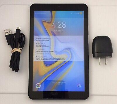 """Samsung Galaxy Tab A 8"""" Tablet 32GB Verizon Wi-Fi SM-T387V Black Android"""