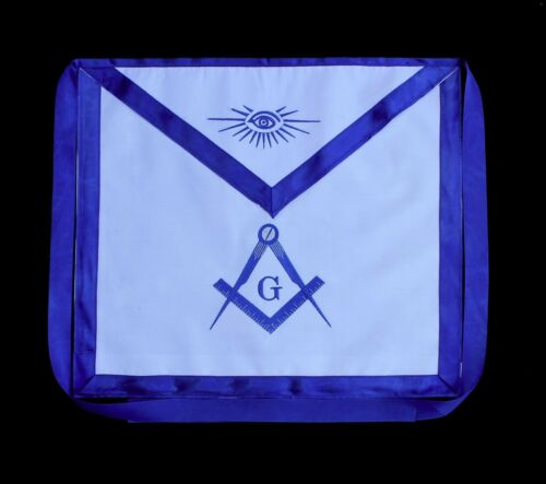 Blue Lodge Chain Collar Master Mason Apron Square Compass
