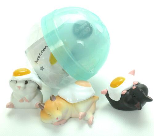 Kawaii Cute Hamster Egg Gashapon Surprise Figure 1 Random Toy