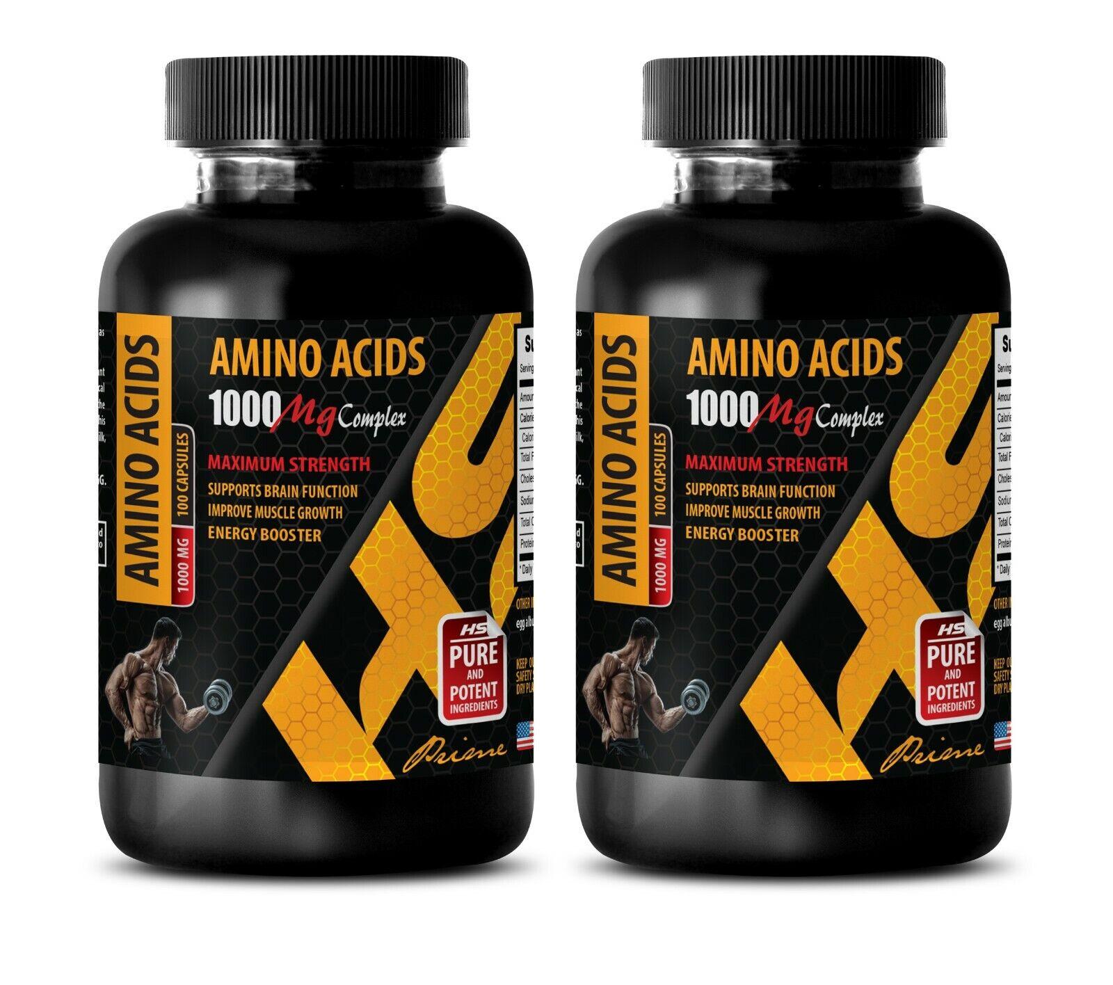 muscle enhancer for men - AMINO ACIDS 1000MG - amino acid bcaa 2B