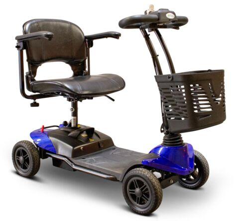 Blue Ewheels Medical Ew-m35 Lightweight Travel Scooter, Wireless, 300 Lb Wt Cap